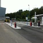pesage et gestion acces en centre d'incineration