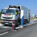 pesage camion ramassage ordures ménagères
