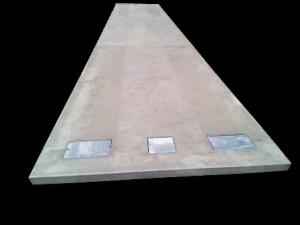 pont-bascule en béton