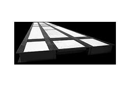 Pont-bascule Perfect FT acier béton