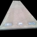 Pont-bascule en beton
