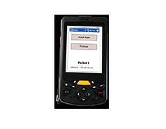 Terminal portable déchetterie durci à écran tactile